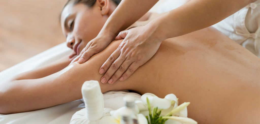 Women Taking massage